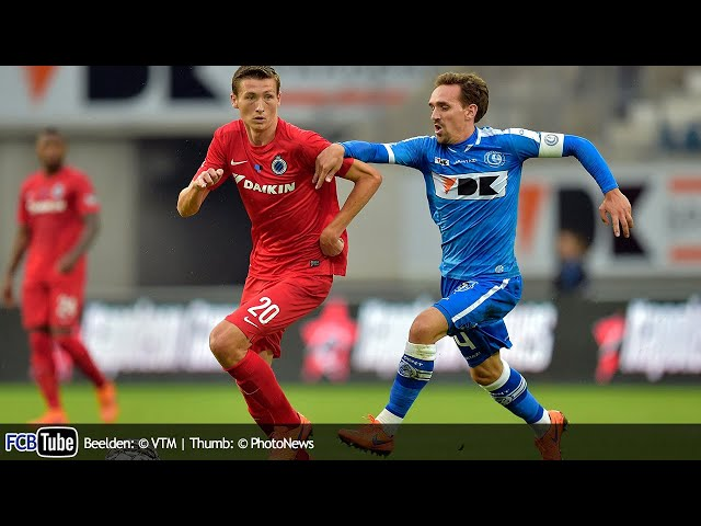 2015-2016 - Supercup - 01. AA Gent - Club Brugge 1-0