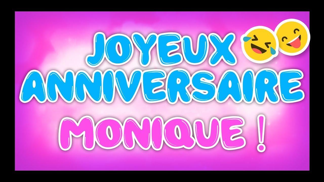 Joyeux Anniversaire Monique Happy Birthday Youtube