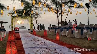 Beach wedding #destinationweddingkerala #beachweddingkerala #weddingplannerkerala