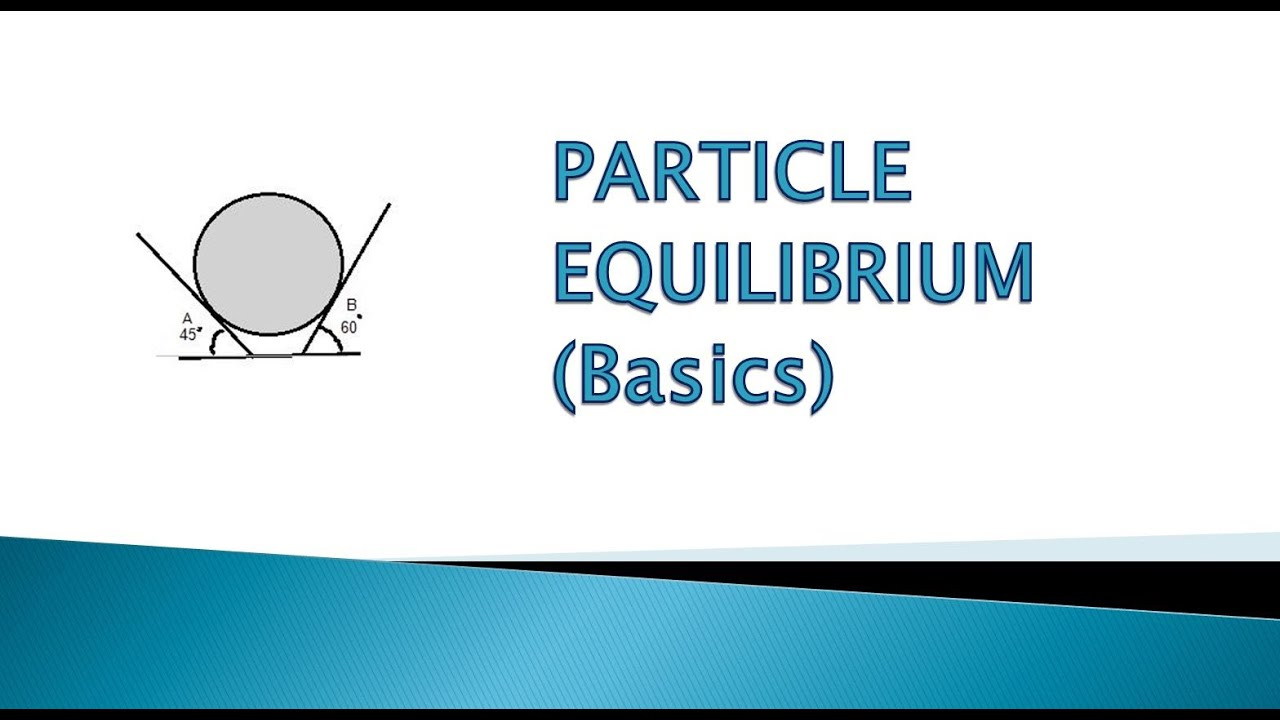 at equilibrium how to know which side has more particles