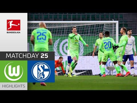 Wolfsburg Schalke Goals And Highlights