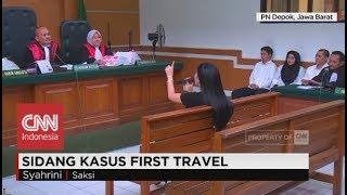 Syahrini 'Ceramahi' Hakim usai Sidang First Travel
