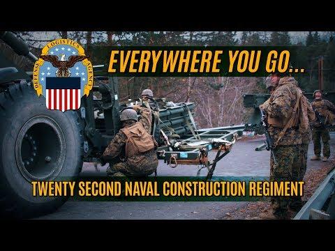 Everywhere You Go…Twenty Second Naval Construction Regiment