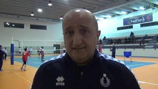 04-12-2019: RegionalDay maschile, le parole di Vincenzo Fanizza tecnico della nazionale maschile U18