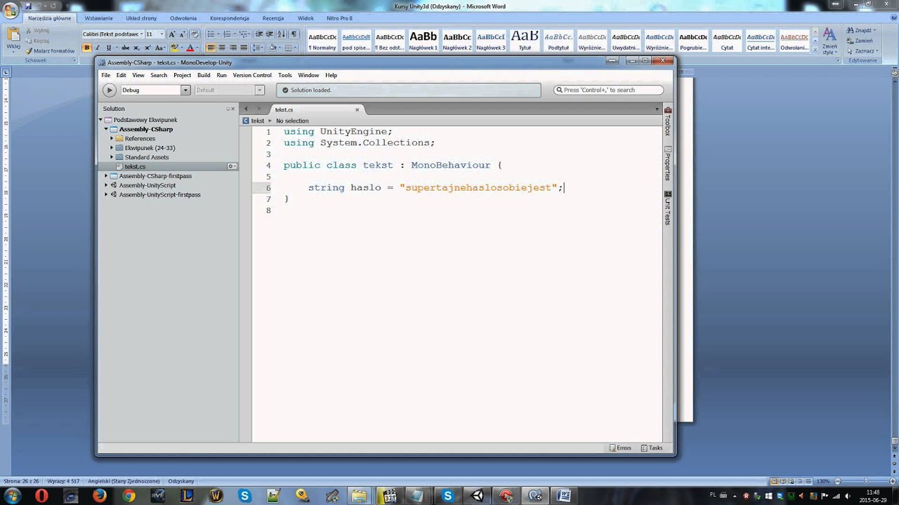 Kurs 36 7 - 10 - Unity Property - SerializeField