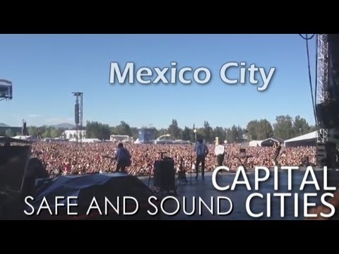 Safe And Sound - Capital Cities Live In Corona, Mexico City (Official)