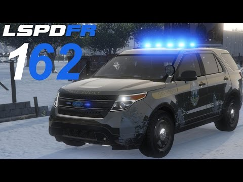 GTA 5 LSPDFR SP #162 Vermont State Police Snow Patrol