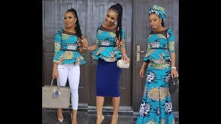 Beautiful Hottest Ankara dresses You Need to Try out 2018