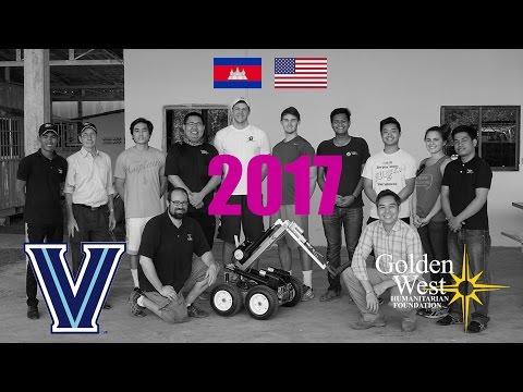 2017 Villanova-Golden West Engineering Education Partnership Cambodia Trip