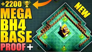 MEGA Builder Hall 4 Base w/ PROOF / BH4 / TH4 NEW CoC Anti 2 Star Builder Base | Clash of Clans