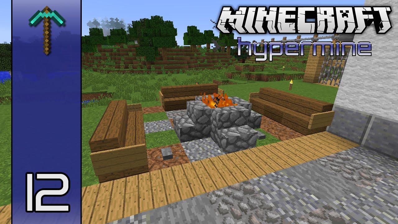 Minecraft Hypermine (Vanilla SMP) | Fire Pit | E12 - YouTube