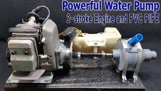 Su Pompası 2 Kullanarak nasıl-zamanlı Motor Ve PVC boru