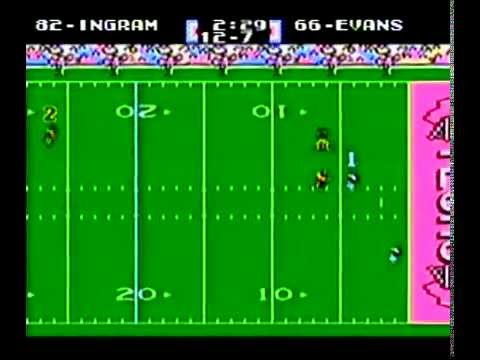 O.J.Anderson And Company On Tecmo Superbowl