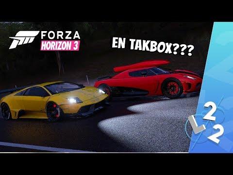 FORZA HORIZON 3 - EN KOENIGSEGG MED TAKBOX?!?