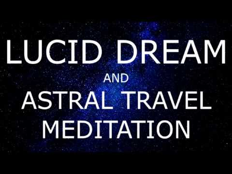 Voice only Guided meditation for Lucid dreaming and Astral travel with affirmations