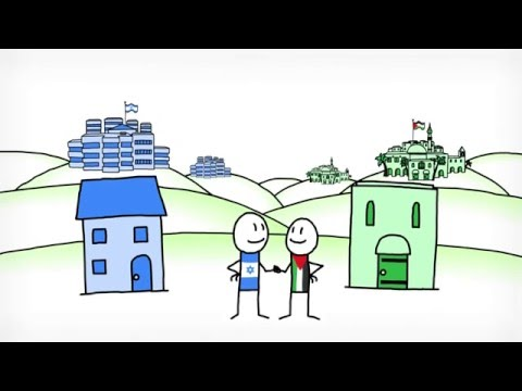 Israeli Palestinian conflict explained: an animated introduction Israel and Palestine