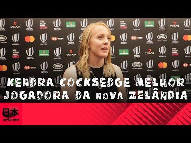Kendra Cocksedge melhor jogadora da Nova Zelândia de 2018