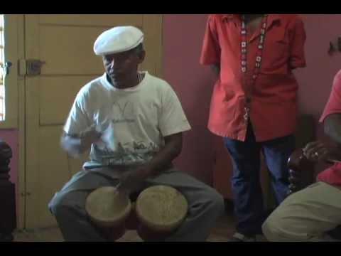 """""""Cinco Changüiseros"""" - Part 3: Taberas (bongó player & director - Grupo Changüí de Guantánamo)"""