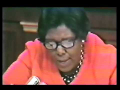 Barbara Jordan on Impeachment, July 25, 1974