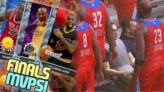 Last 13 NBA Finals MVP's! NBA 2K16 MyTEAM