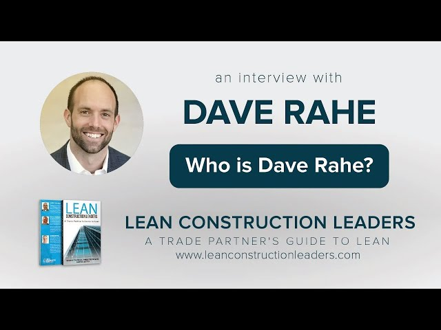 Who is Dave Rahe?