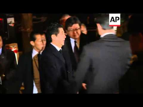 France  - Japanese PM pays respects at Bataclan | Editor's Pick | 29 Nov 2015