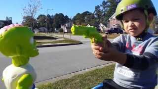 nerf zombie war pdk films inspired when zombies attack