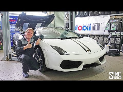 I Did My First Oil Change with  a Lamborghini Gallardo!