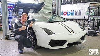 I Did My First Oil Change with  a Lamborghini Gallardo!