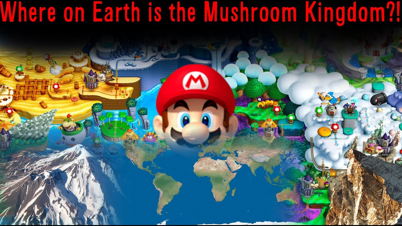 Where Is The Mushroom Kingdom Theory Youtube