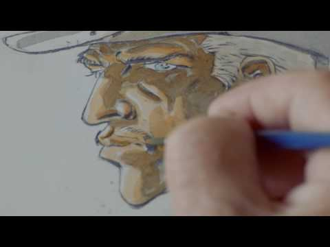 Hermann At Work VI - The Making Of A Cover