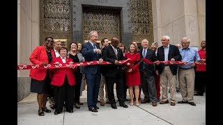 The Grand Reopening of the Pratt Central Library