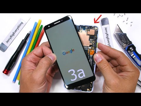 Google Pixel 3a Teardown! - Sufficiently Simple