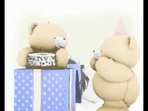 Forever Friends Bear Bear Happy Birthday