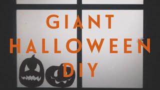 Гигантский DIY на Хеллоуин / 5 простых украшений для дома   Ира Блан
