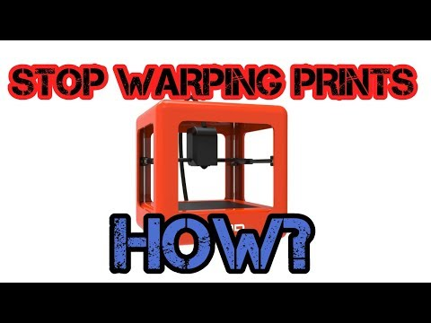 How To Stop Warping, And Get The Best Quality On M3D!