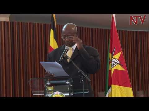 Museveni praises Mozambique's role in Uganda's liberation