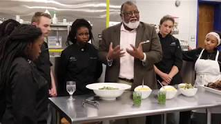 Alexander Smalls Speaks to DMTC Culinary Students