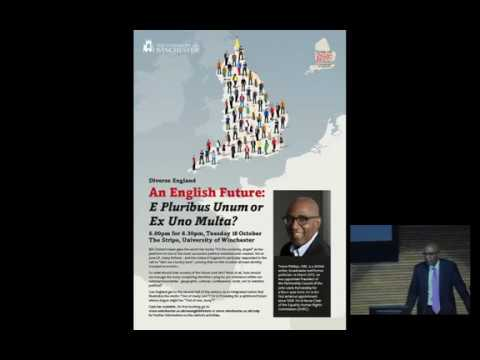 An English Future - Trevor Phillips - Centre for English Ide