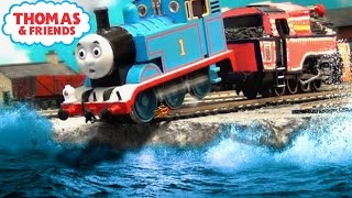 ashima rescues thomas   the great race ho oo remake