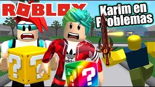 Karim in Epic Problems Lucky Blocks in Roblox Roblox Karim Games Play