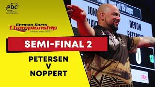 Petersen v Noppert | Semi Final | 2020 German Darts Championship