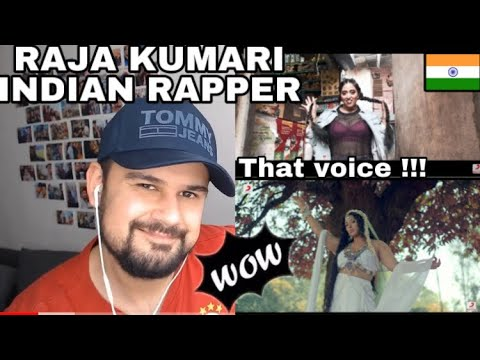 """Foreigner reacts to RAJA KUMARI (Indian Female Rapper)-""""Bindis and Bangles"""" & """"City Slums""""ft. Divine"""