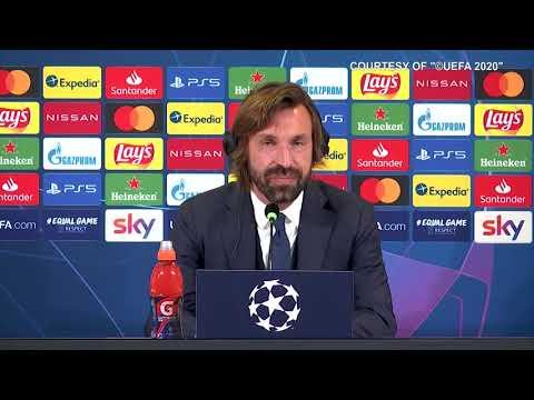 """Juve-Dynamo Kiev 3-0, Pirlo: """"Con il Barca per il primo posto. Bene Chiesa.Dybala fuori perchè..."""""""