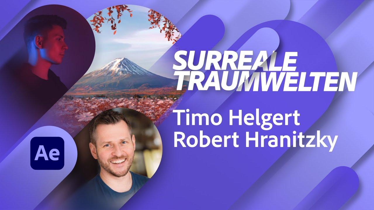 Real- und 3D Traumwelten mit Timo Helgert |Adobe Live