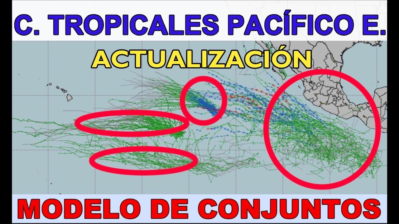 C. Tropicales Pacífico Este: ACTUALIZACIÓN. Interpretando un Modelo de Conjuntos