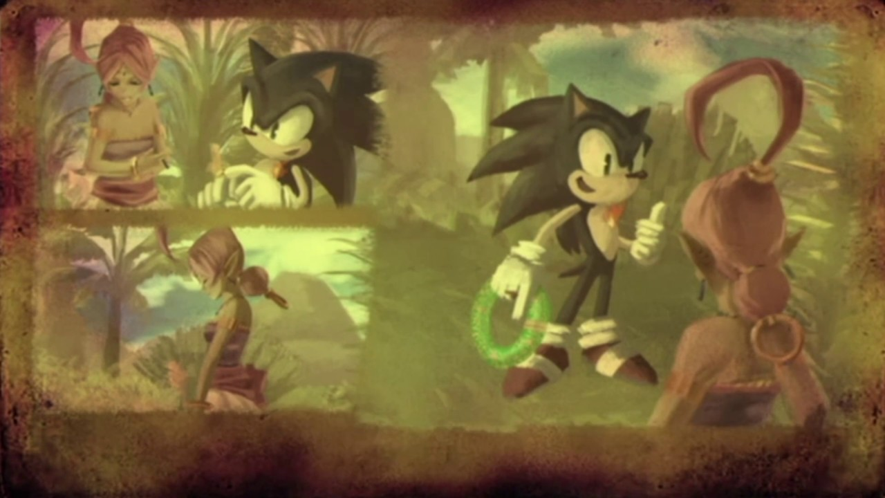 Sonic And The Secret Rings Japanese Cutscenes