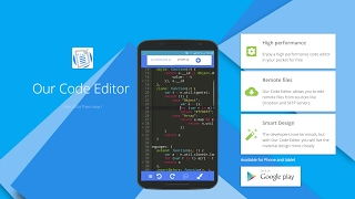 Our Code Editor 2017 | Code and Text editor for Android