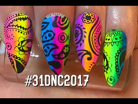 day-23-pattern-nails-paisley-31-day-nail-challenge-2017