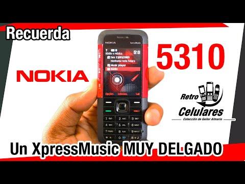 NOKIA 5310 XpressMusic Colección Celulares Clásicos, antiguos o viejos